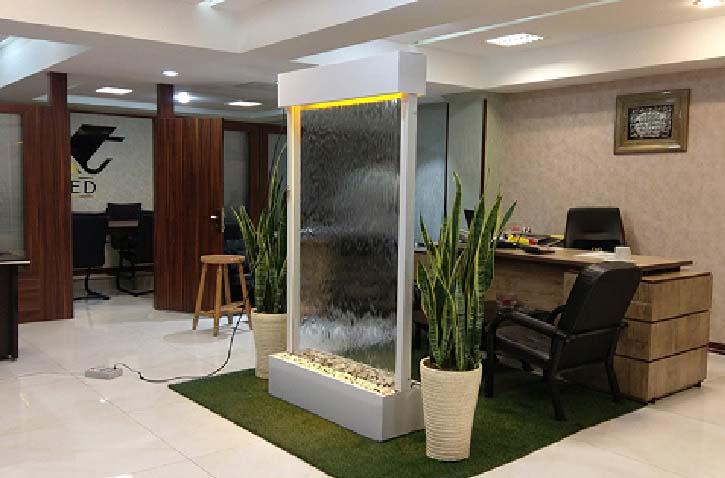 طراحی آبنما - نقش آبنماها در افزایش رطوبت - انواع آبنما - آبگون دیزاین
